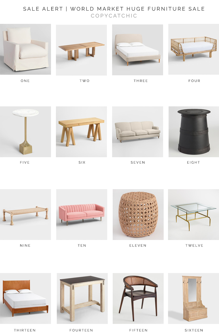 The best of World Market Friends & Family | Up to 60% off all furniture | Our favorite picks copycatchic luxe living for less budget home decor and design