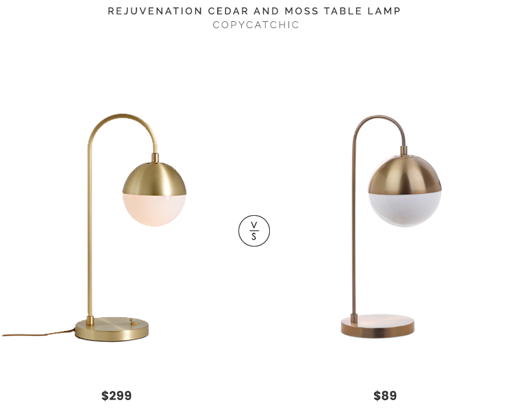 Daily Find Rejuvenation Cedar And Moss Table Lamp