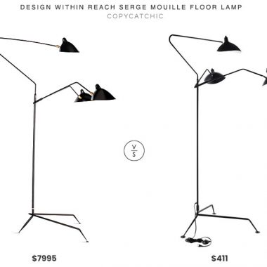 Design Within Reach Serge Mouille Floor Lamp$7995 vs. Bed Bath and Beyond Modway View Floor Lamp $411, mouille floor lamp look for less, copycatchic luxe living for less, budget home decor and design, daily finds, home trends, sales, budget travel and room redos