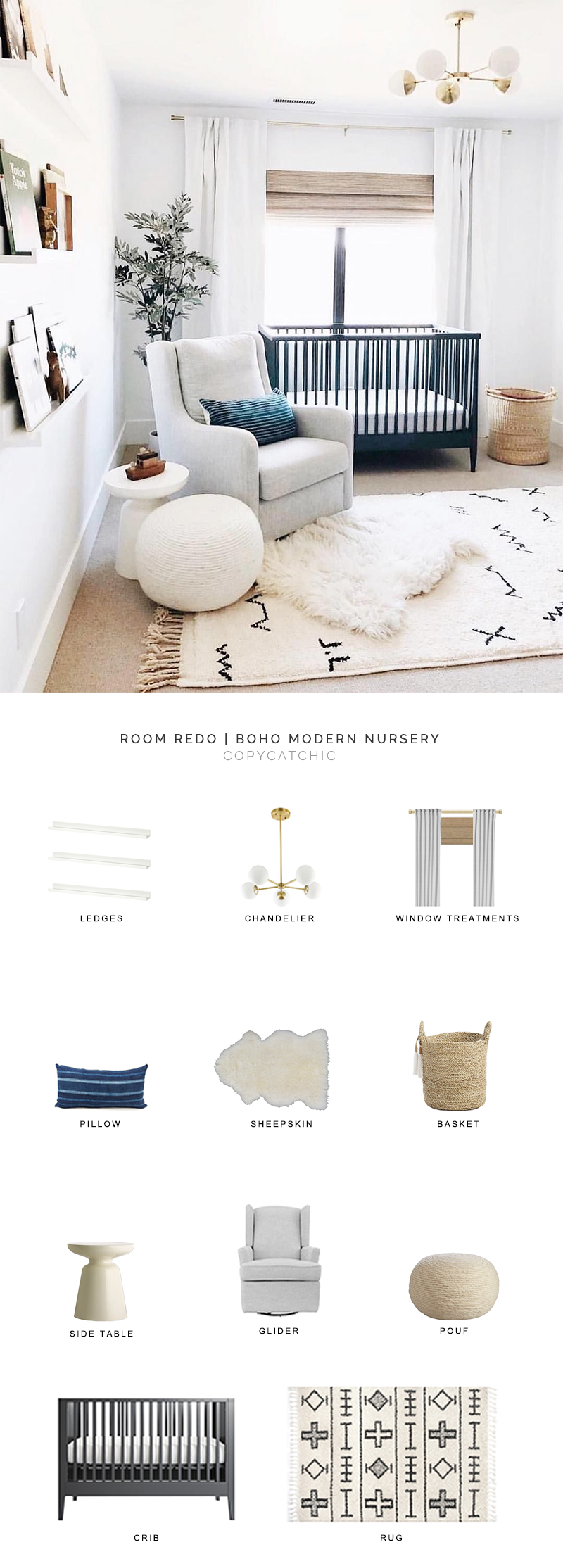 boho modern nursery look for less, copycatchic luxe living for less, budget home decor and design, daily finds, home trends, sales, budget travel and room redos