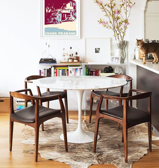 Paynes Gray Kristoffer Dining Chair$790 vs. Hayneedle EdgeMod Kennedy Arm Chair $185, midcentury dining chair look for less, copycatchic luxe living for less, budget home decor and design, daily finds, home trends, sales, budget travel and room redos