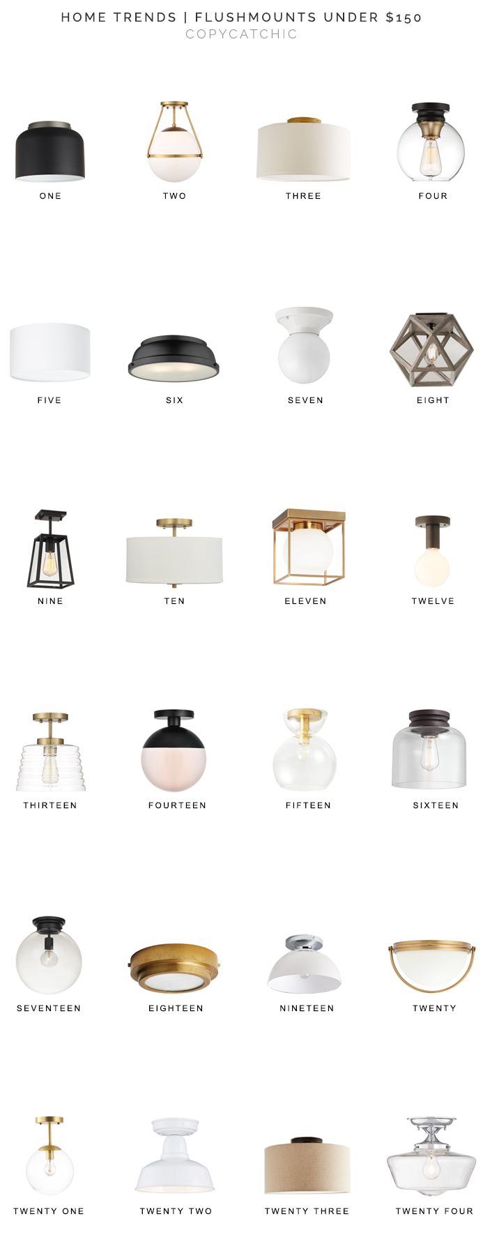 flushmount light fixtures for less, flushmount lighting, flushmount lights under $150, copycatchic luxe living for less, budget home decor and design, daily finds, home trends, sales, budget travel and room redos