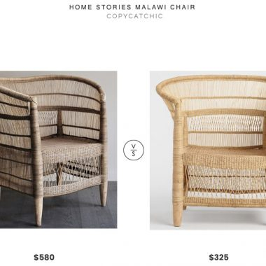 Home Stories Malawi Chair $580 vs. World Market Malawi Wicker Chair$350, modern wicker chair look for less, copycatchic luxe living for less, budget home decor and design, daily finds, home trends, sales, budget travel and room redos