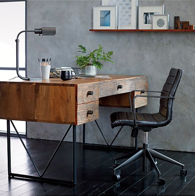 Crate & Barrel Theorem Patina Bronze Desk Lamp $227 vs. Cal Lighting Metal Desk Lamp in Dark Bronze $106, bronze task lamp look for less, copycatchic luxe living for less, budget home decor and design, daily finds, home trends, sales, budget travel and room redos