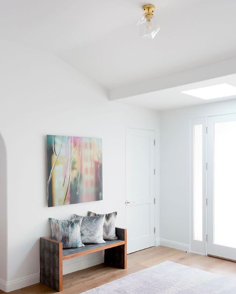 Schoolhouse Fuller Clear Glass Fixture $449 vs. West Elm Sculptural Glass Faceted Flushmount $99, faceted flushmount light fixture look for less, copycatchic luxe living for less, budget home decor and design, daily finds, home trends, sales, budget travel and room redos