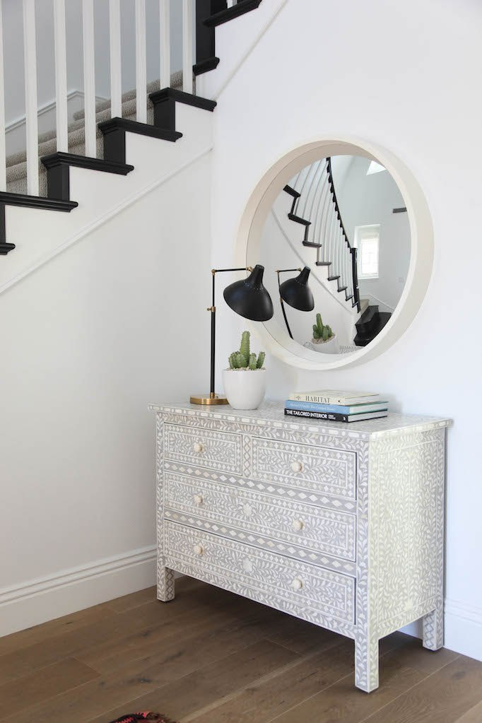 Wisteria Moorish Chest $2999 vs. Anthropologie Bone Inlay Three-Drawer Dresser $1298, inlay chest look for less, copycatchic luxe living for less, budget home decor and design, daily finds, home trends, sales, budget travel and room redos