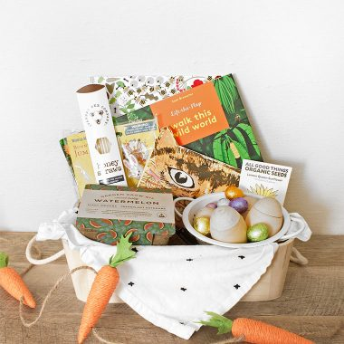 modern minimal natural garden themed easter baskets for kids less candy more fun copycatchic luxe living for less with world market