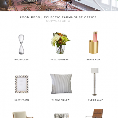 studio mcgee office look for less, copycatchic luxe living for less, budget home decor and design, daily finds, home trends, sales, budget travel and room redos