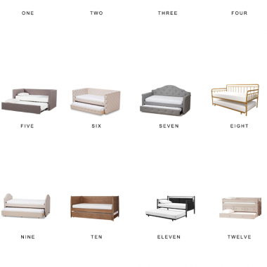trundle beds for less, copycatchic luxe living for less, budget home decor and design, daily finds, home trends, sales, budget travel and room redos