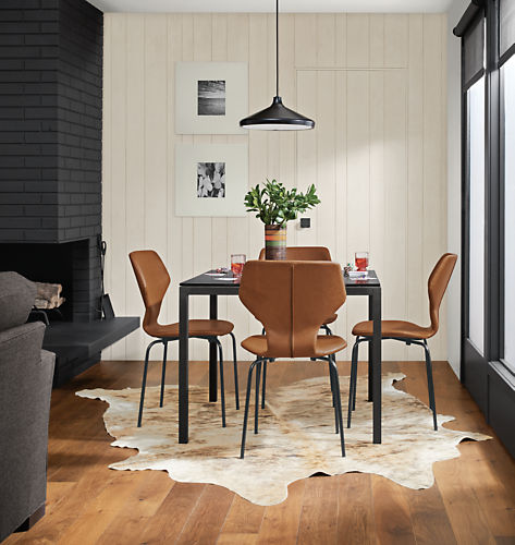 Room & Board Celestria Pendant $229 vs. Hayneedle Livex Lighting Curved Edge Pedant Light $120, black pendant light look for less, copycatchic luxe living for less, budget home decor and design, daily finds, home trends, sales, budget travel and room redos