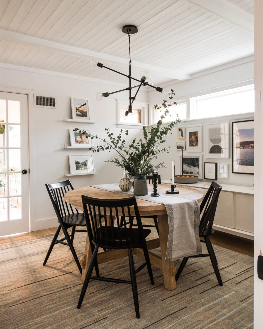 Anthropologie Remnick Chair $228 vs. Target Wren Spindle Dining Chair (set of 2)$230, black dining chair look for less, copycatchic luxe living for less, budget home decor and design, daily finds, home trends, sales, budget travel and room redos
