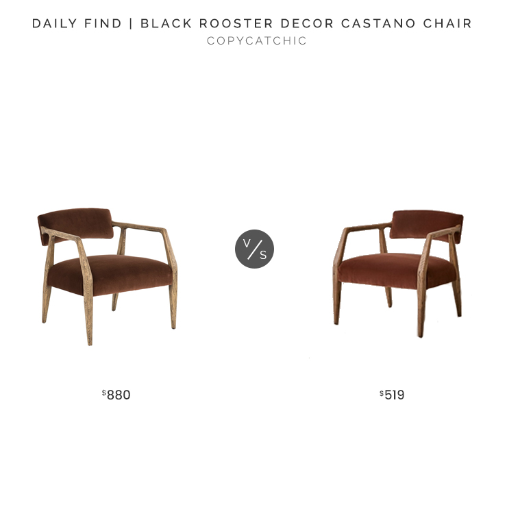 Black Rooster Castano Chair $880 vs. Urban Outfitters Edith Velvet Chair $519, velvet lounge chair look for less, copycatchic luxe living for less, budget home decor and design, daily finds, home trends, sales, budget travel and room redos