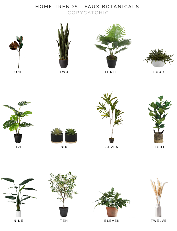 faux plants for less, faux botanicals for less, faux trees for less, copycatchic luxe living for less, budget home decor and design, daily finds, home trends, sales, budget travel and room redos