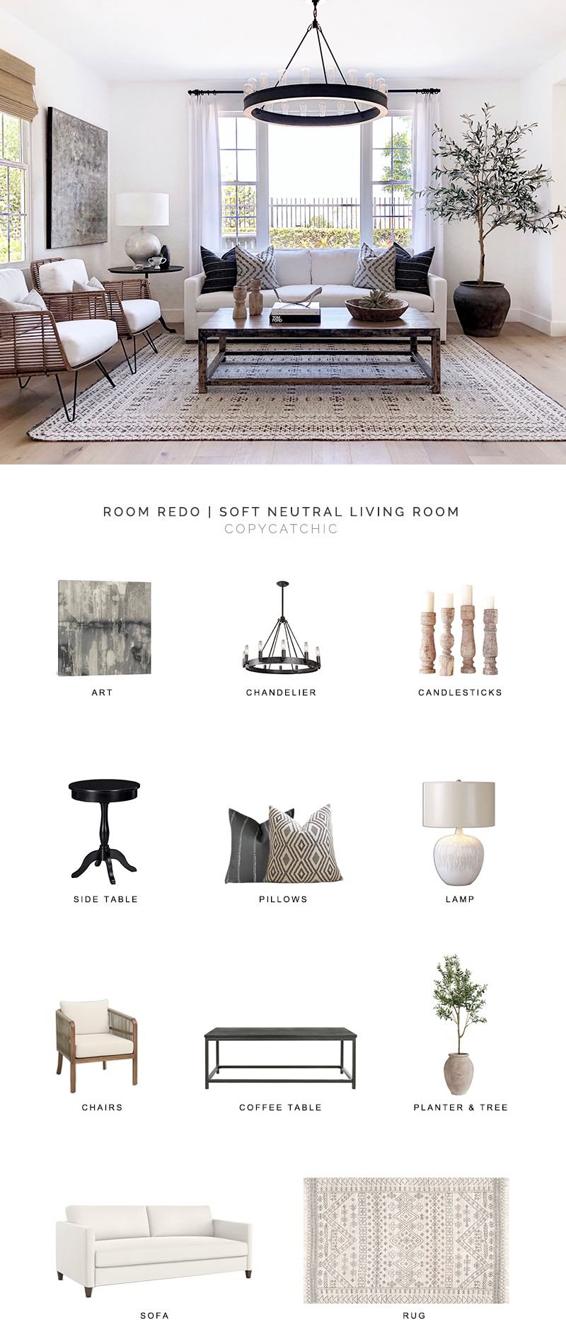 modern neutral living room look for less, copycatchic luxe living for less, budget home decor and design, daily finds, home trends, sales, budget travel and room redos