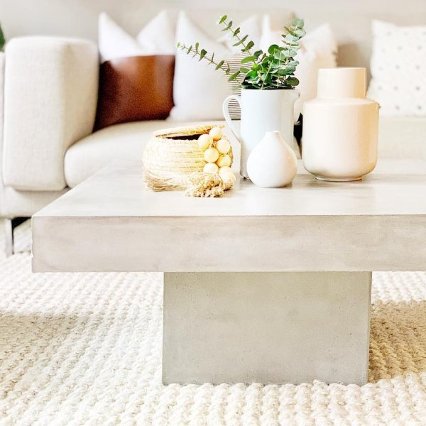 concrete decor for less, concrete furniture, concrete accessories, copycatchic luxe living for less, budget home decor and design, daily finds, home trends, sales, budget travel and room redos