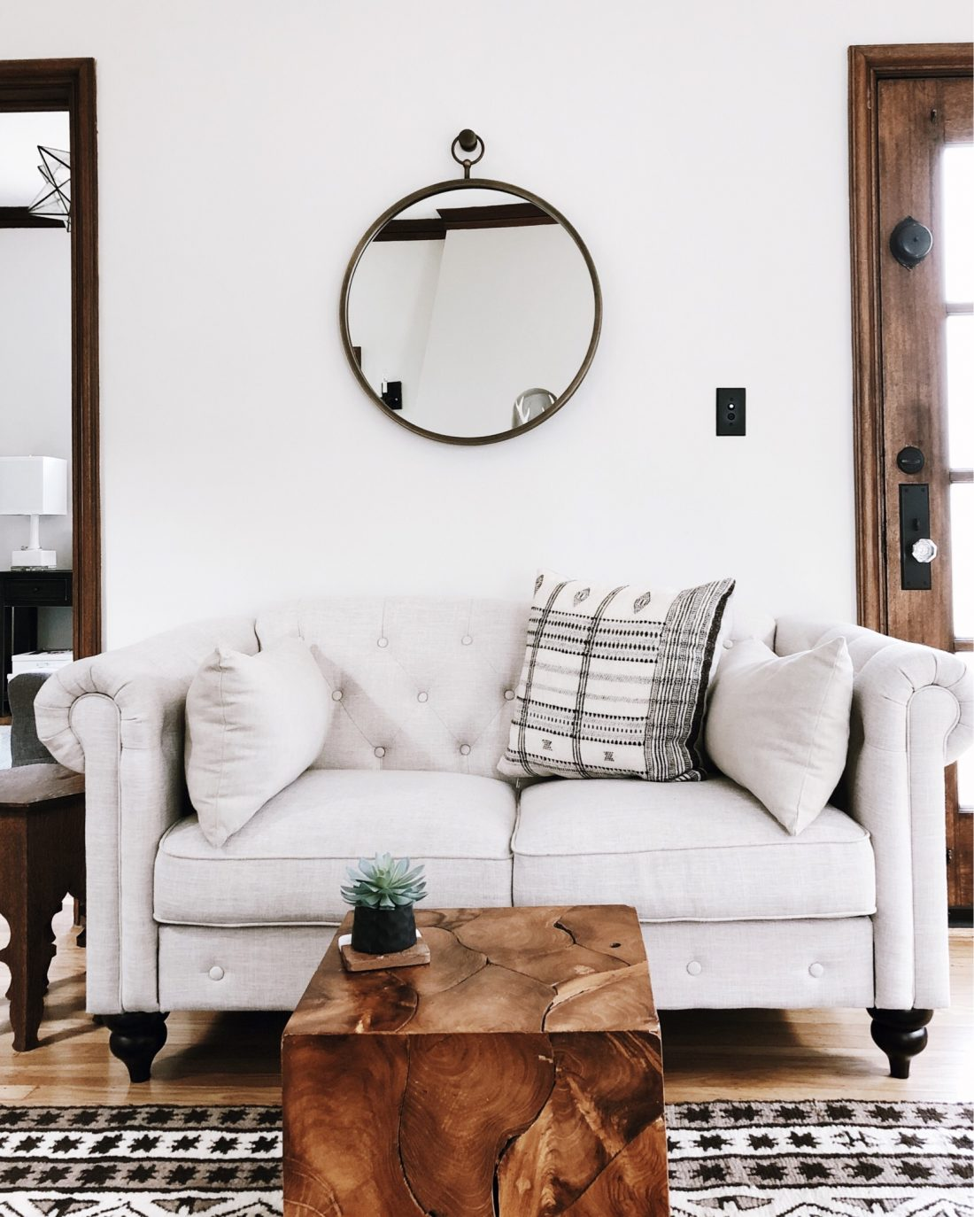The best loveseats for any budget. Favorite chic loveseats to fit small spaces | copycatchic luxe living for less budget home decor, room designs, travel and living for less