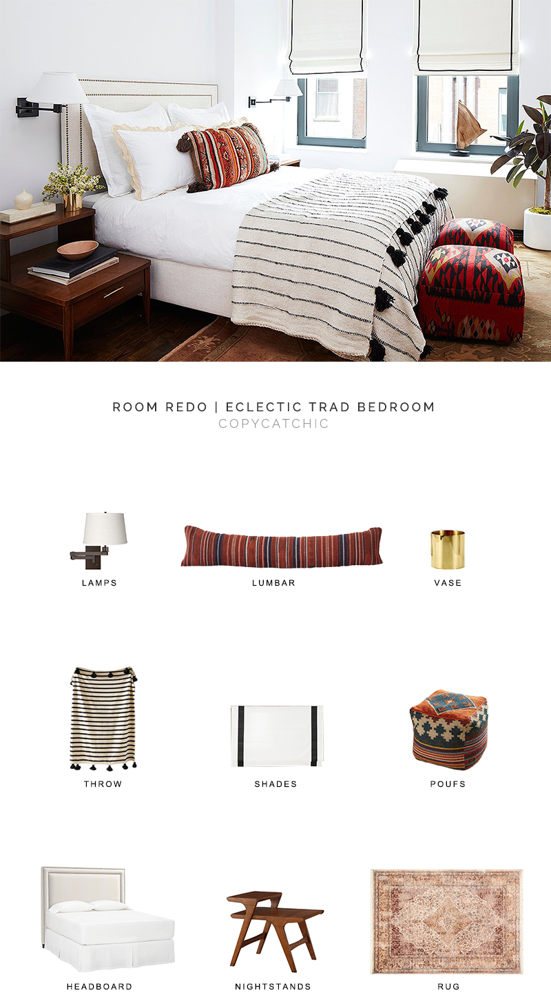 eclectic bedroom look for less, copycatchic luxe living for less, budget home decor and design, daily finds, home trends, sales, budget travel and room redos