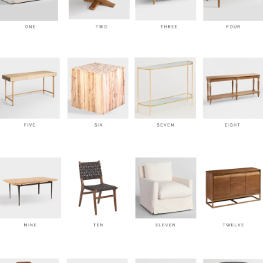 The best of World Market 30% off Office, Dining and Living Room Sale | Our favorite picks copycatchic luxe living for less budget home decor and design