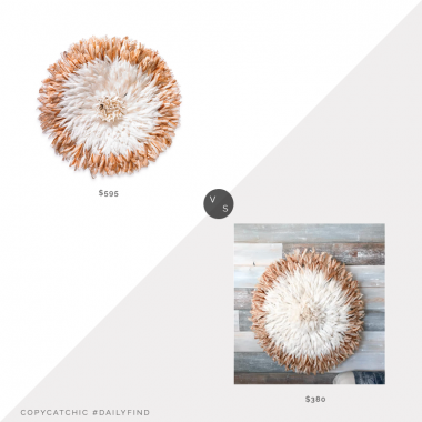 St. Frank Juju Hat III $595 vs. Wayfair Bloomsbury Market Juju Hat Wall Hanging $380, juju hat look for less, copycatchic luxe living for less, budget home decor and design, daily finds, home trends, sales, budget travel and room redos