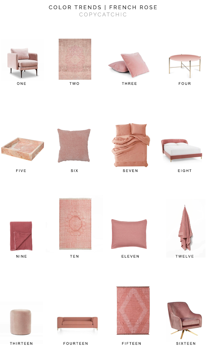 french rose decor, copycatchic luxe living for less, budget home decor and design, daily finds, home trends, sales, budget travel and room redos