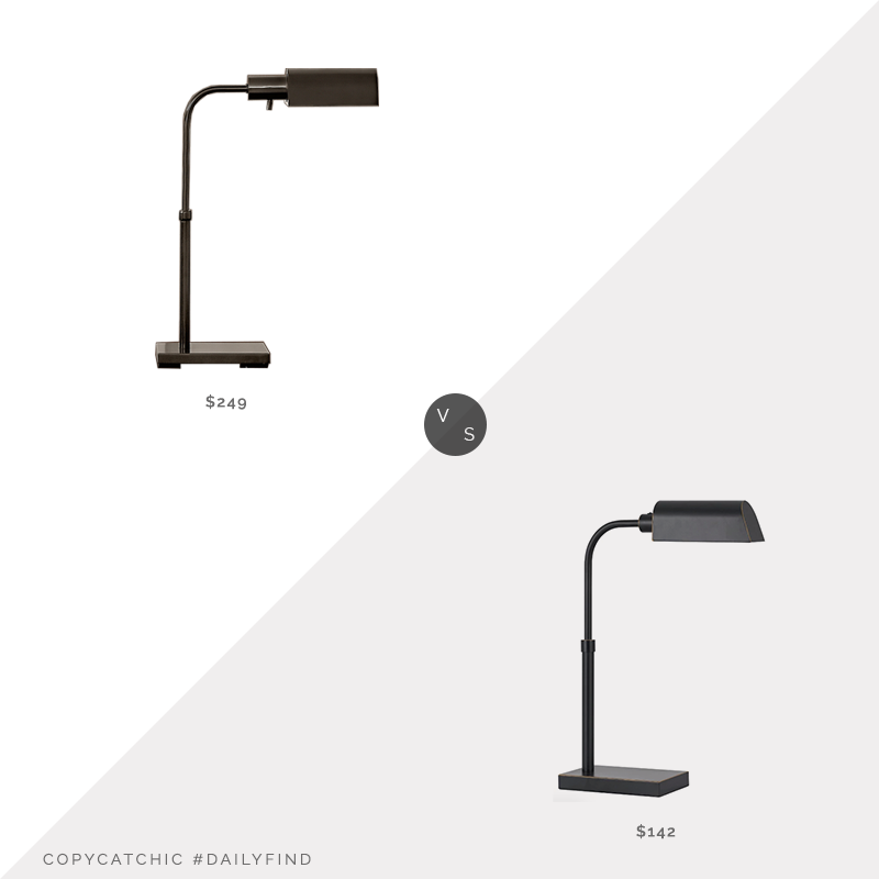 Restoration Hardware Classic Adjustable Task Table Lamp vs. Target Cal Lighting Pharmacy Desk Lamp, pharmacy desk lamp look for less, copycatchic luxe living for less, budget home decor and design, daily finds, home trends, sales, budget travel and room redos