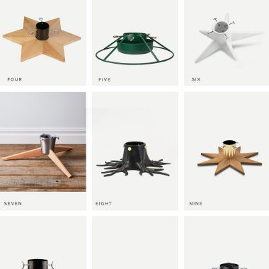 The best modern, minimalist, Christmas tree stand holders for any budget. With tree stands that look this good, who needs a tree skirt or tree collar?! Our fave picks to give your home a warm and happy holiday vibe. Modern and Minimal Christmas Decor copycatchic luxe for less decor