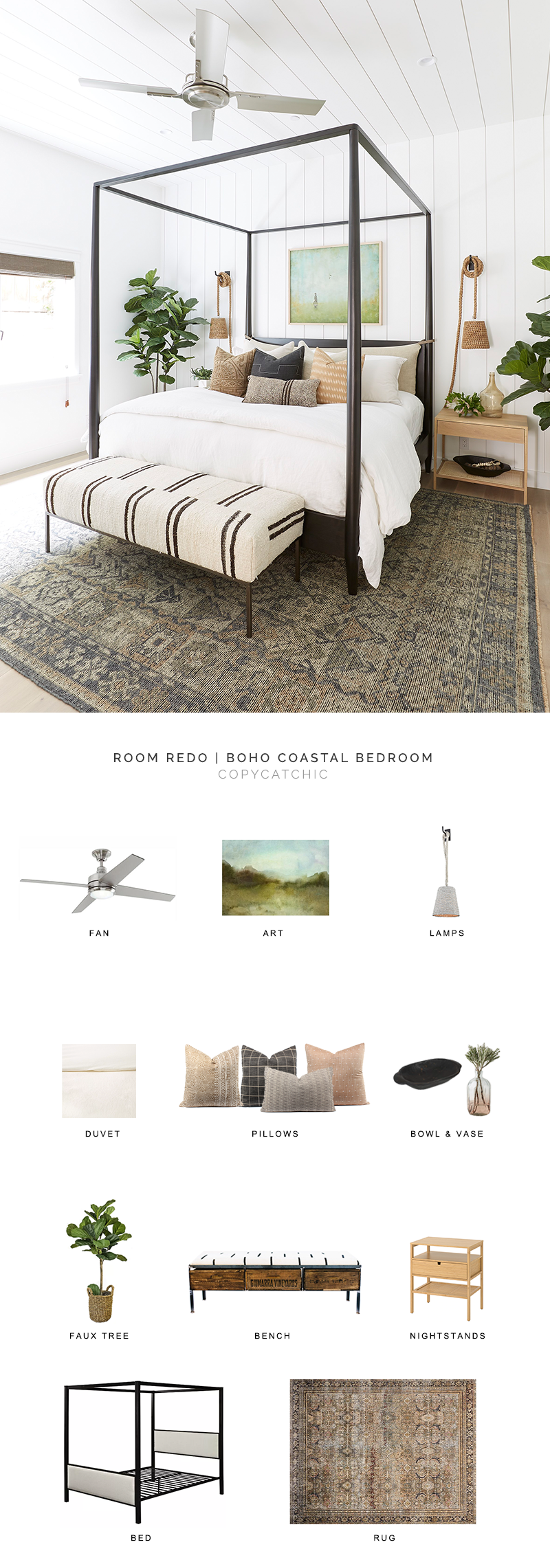 california style bedroom look for less, boho coastal bedroom, copycatchic luxe living for less, budget home decor and design, daily finds, home trends, sales, budget travel and room redos