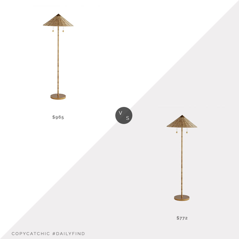 Daily Find: Arteriors Terrace Floor Lamp, arteriors lamp look for less, copycatchic luxe living for less, budget home decor and design, daily finds, home trends, sales, budget travel and room redos