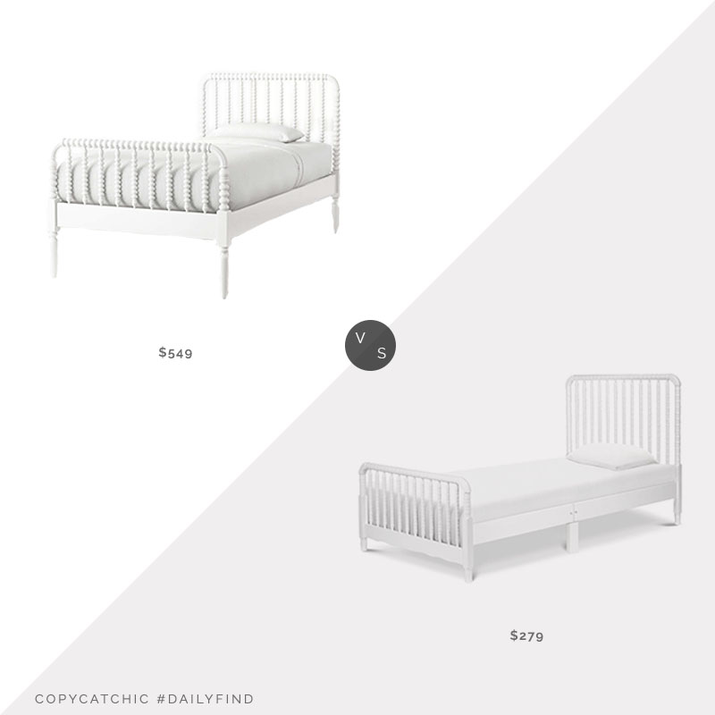 Daily Find: Crate & Kids Jenny Lind Twin Bed vs. Wayfair Jenny Lind Twin Platform Bed, jenny lind bed look for less, copycatchic luxe living for less, budget home decor and design, daily finds, home trends, sales, budget travel and room redos