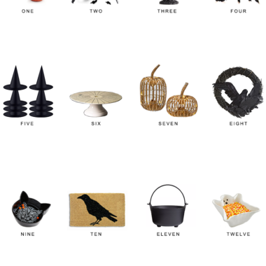 halloween decor for less, copycatchic luxe living for less, budget home decor and design, daily finds, home trends, sales, budget travel and room redos