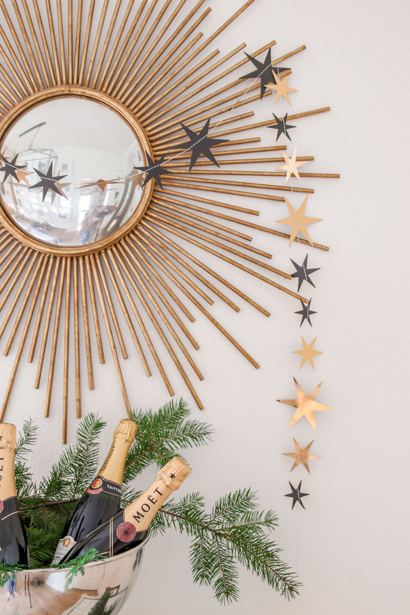 new year's eve decor, new year's eve party, new year's eve entertaining, NYE party, copycatchic luxe living for less, budget home decor and design, daily finds, home trends, sales, budget travel and room redos