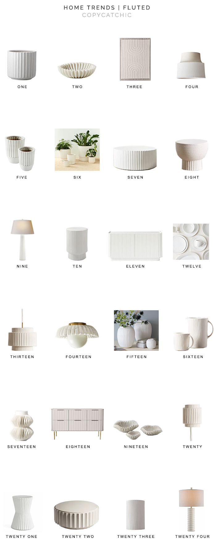 fluted decor for less, copycatchic luxe living for less, budget home decor and design, daily finds, home trends, sales, budget travel and room redos