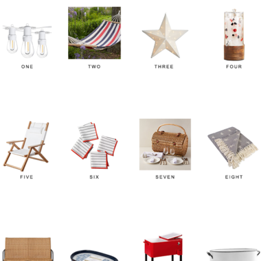 4th of july party decor, 4th of july home, 4th of july entertaining, copycatchic luxe living for less, budget home decor and design, daily finds, home trends, sales, budget travel and room redos