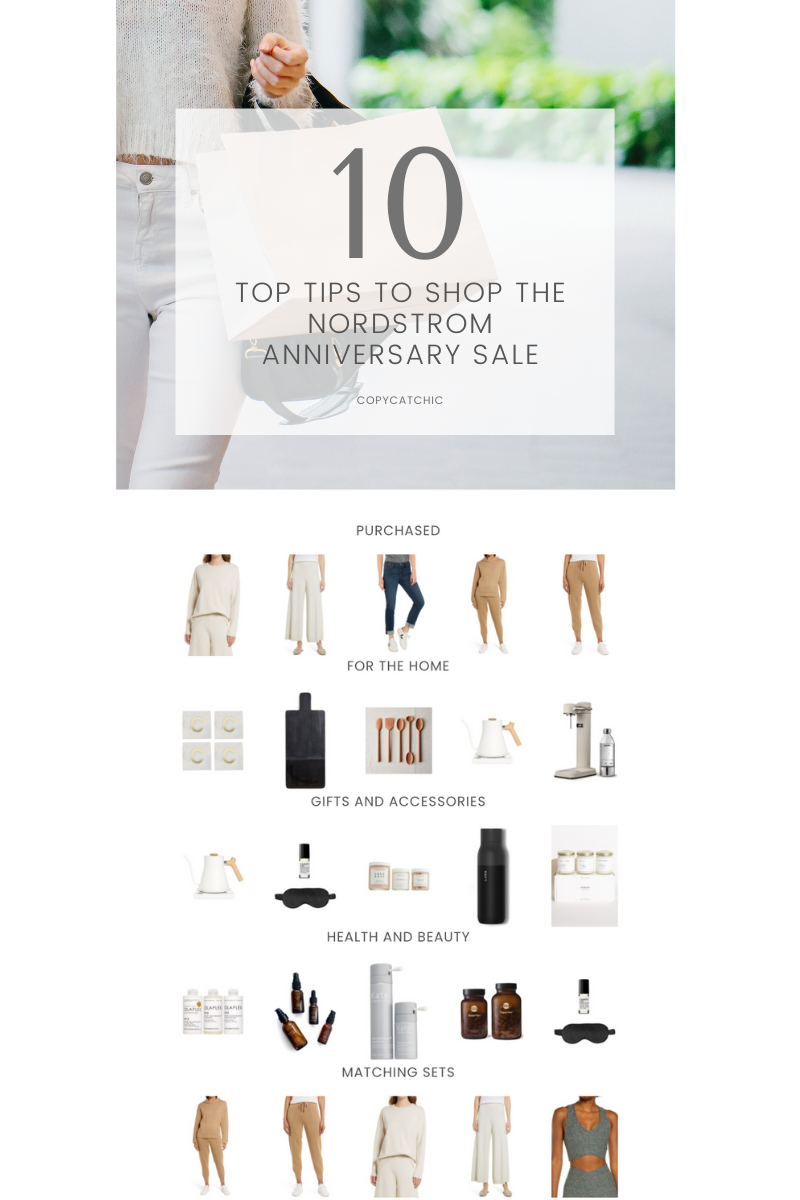 10 tips for shopping the Nordstrom Anniversary Sale