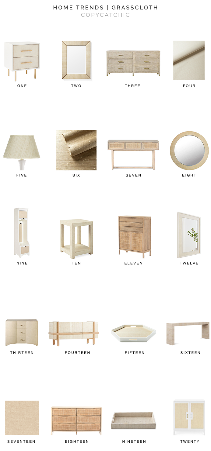 grasscloth decor for less, grasscloth furniture, grasscloth accessories, grasscloth wallpaper, copycatchic luxe living for less, budget home decor and design, daily finds, home trends, sales, budget travel and room redos