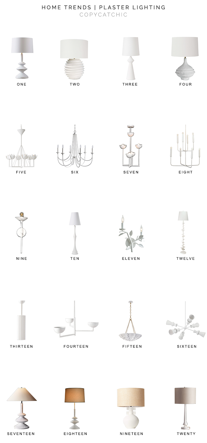 plaster lighting look for less, gesso light fixture, plaster light fixture, matte white light fixture, lighting for less, copycatchic luxe living for less, budget home decor and design, daily finds, home trends, sales, budget travel and room redos