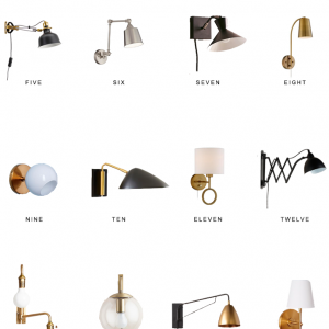 Home Trends | Wall Sconces Under $100