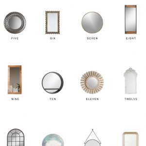 Home Trends | Mirrors Under $250