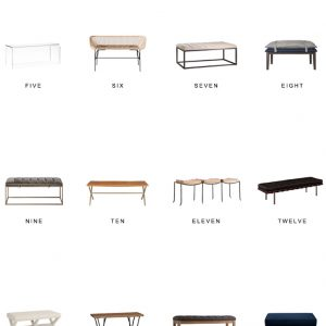 Home Trends | Benches
