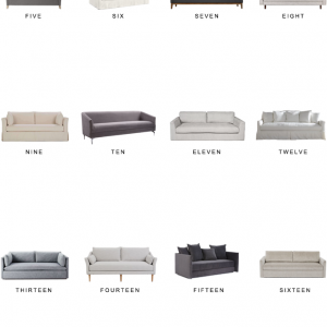 Home Trends | Bench Seat Sofas Under $1500