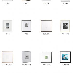 Home Trends | Wide Mat Frames