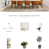 Room Redo | Warm Modern Dining Room