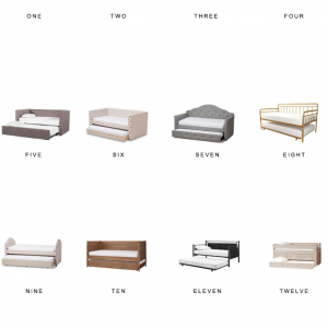 Home Trend | Modern Trundle Beds