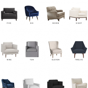 Home Trends | Armchairs Under $500, Part II