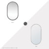 Daily Find: Regina Andrew Canal Mirror vs. Ikea Lindbyn Mirror, black capsule mirror look for less, copycatchic luxe living for less, budget home decor and design, daily finds, home trends, sales, budget travel and room redos